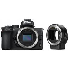 Цифровая Фотокамера Nikon Z50 + FTZ adapter (VOA050K003)