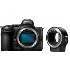 Цифровая Фотокамера NIKON Z5 Body + FTZ Mount Adapter (VOA040K002) .