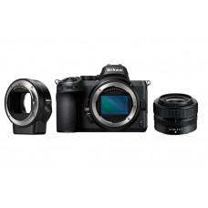 Цифровая Фотокамера NIKON Z5 + 24-50 F4-6.3 + FTZ Mount Adapter (VOA040K003) .