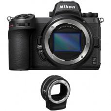 Беззеркальная цифровая камеры Nikon Z6II с комплектом переходников FTZ (VOA060K002)