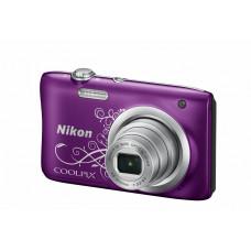 Цифровая Фотокамера NIKON Coolpix A100 Purple Lineart (VNA974E1)
