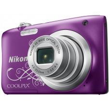 Цифровая фотокамера Nikon Coolpix A100 Purple Lineart