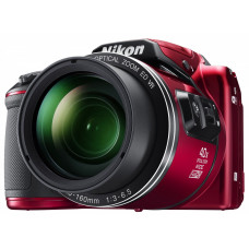 Цифровая фотокамера Nikon Coolpix B500 Red (VNA953E1)