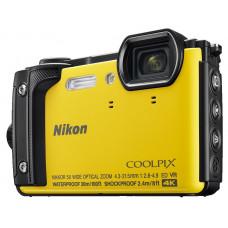 Цифровая фотокамера Nikon Coolpix W300 Yellow VQA072E1