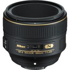 Объектив Nikon AF-S NIKKOR 58mm f / 1.4G (JAA136DA)
