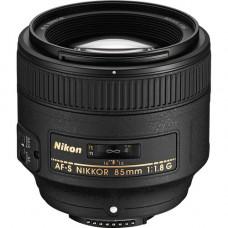 Объектив Nikon AF-S NIKKOR 85mm f / 1.8G (JAA341DA)