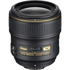 Объектив Nikon AF-S NIKKOR 35mm f / 1.4G