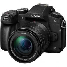 Цифровая Беззеркальная Фотокамера Panasonic с одним объективом LUMIX DMC-G80 + G Vario 12-60mm f / 3.5-5.6 ASPH (DMC-G80MEE-K)