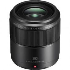 Объектив Panasonic Lumix G Macro 30 мм f / 2,8, АСФЕРИЧЕСКИЙ MEGA OIS (H-HS030E)