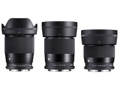 Sigma представили три новых объектива для L-mount