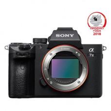 Цифровой фотоаппарат Sony Alpha A7 III Body, черный