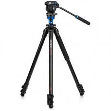Алюминиевый штатив Benro с видеоголовкой S2 PRO 60 мм с плоским основанием (A1573FS2)