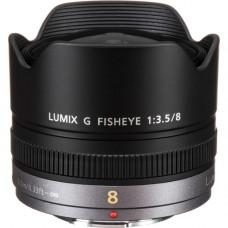 Объектив Panasonic Lumix G Fisheye 8mm f / 3.5 H-F008E