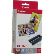 Набор цветных чернил и бумаги Canon KC-36IP (54x86mm, 36листов) 7739A001