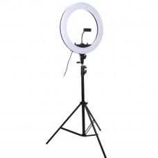 """Кольцевая LED лампа Puluz MCP0056 18"""" + штатив"""