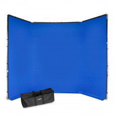 Manfrotto FX хромакей 4x2.9м комплект синий