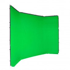 Manfrotto FX хромакей 4x2.9м фон зеленый