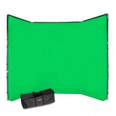 Manfrotto FX хромакей 4x2.9м комплект зеленый