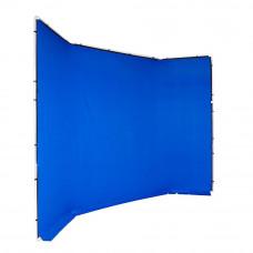 Manfrotto FX хромакей 4x2.9м фон синий