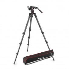 Nitrotech 608 видеоголова и штатив карбоновый высокий