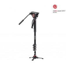 XPRO Видеомонопод алюм. 4секц. с 500-головой, FLUIDTECH базо