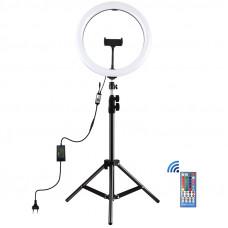 """Кольцевая LED лампа Puluz PKT3050EU 12"""" + штатив"""