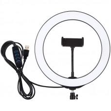 Кольцевая USB LED лампа Puluz PU397 10.2