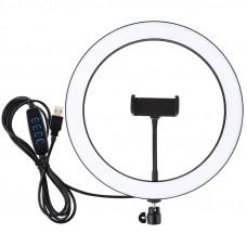 Кольцевая USB LED лампа Puluz PU407 11.8